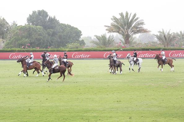 Cartier Polo action