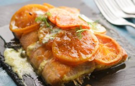 Tangerine Salmon | Recipe By Simon Rimmer