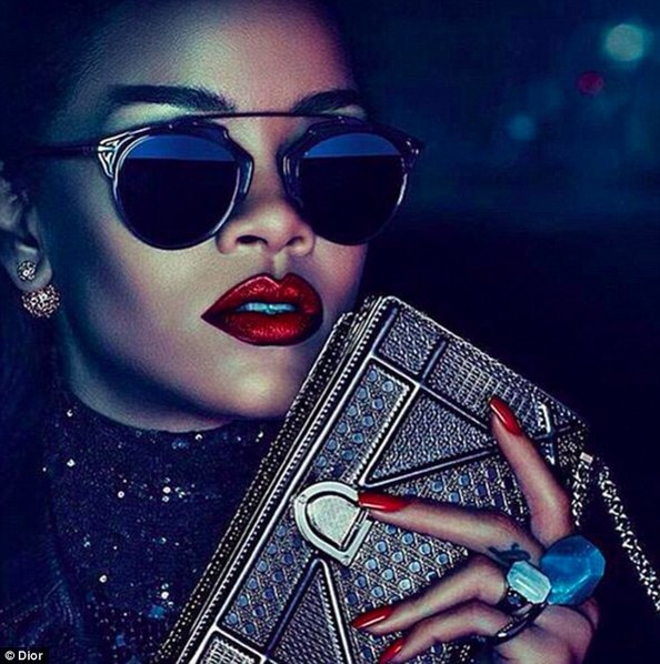 96410b843427 Rihanna As Dior s First Black Spokesperson – Emirates Woman