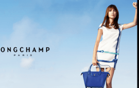 Alexa Chung for Longchamp | Behind The Scenes