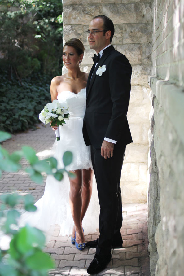 real wedding Negar Ghodstinat and Amir Farhang