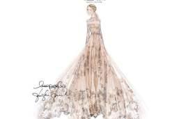 Sneak Peek At Frida Giannini's Valentino Bridal Gown