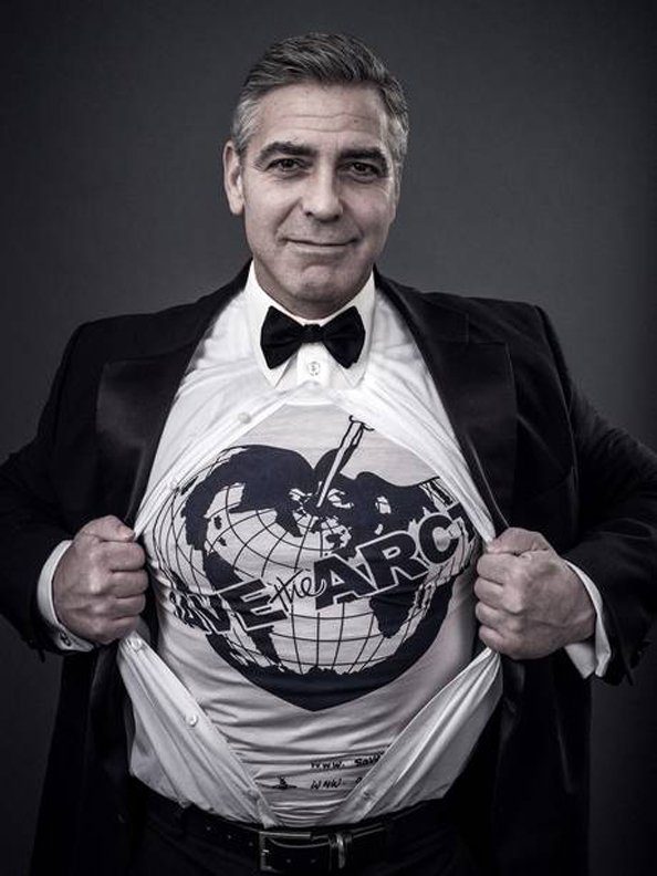George Clooney, save the artic