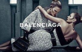 Kate Moss & Lara Stone Star In Balenciaga Ad