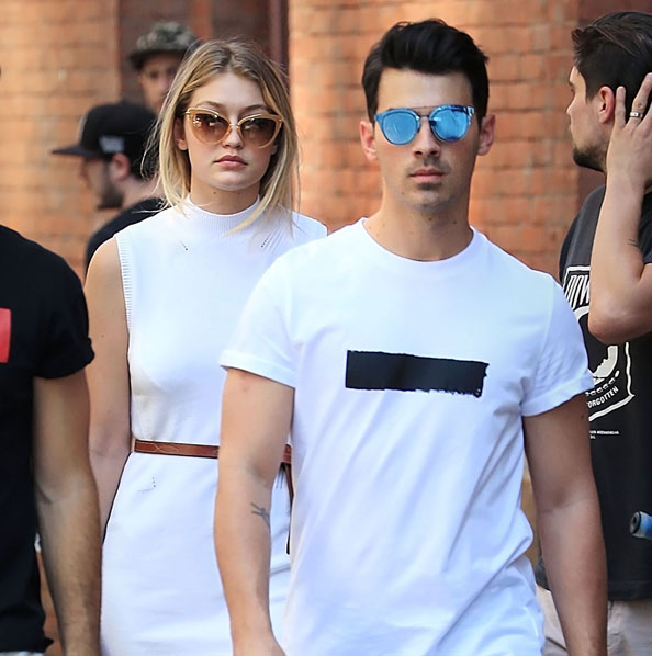 JOE JONAS & GIGI HADID, celebrity couple
