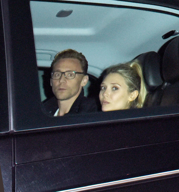 ELIZABETH OLSEN & TOM HIDDLESTON, celebrity couplies