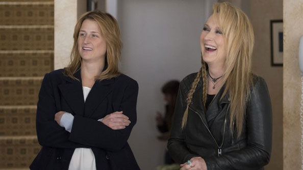 Meryl Streep and daughter Mamie Gummer in Ricki and the Flash