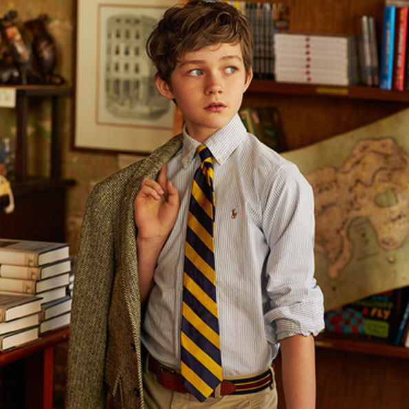 Levi Miller Pan Movie Ralph Lauren Fall Campaign