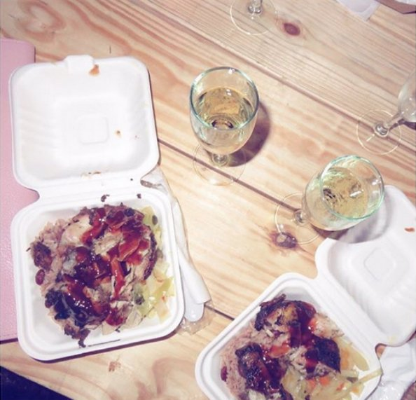 Jerk chicken and rice and pea – fashionista food