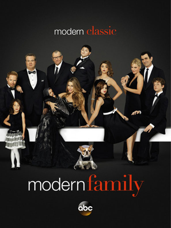 Modern Family poster for Season 5