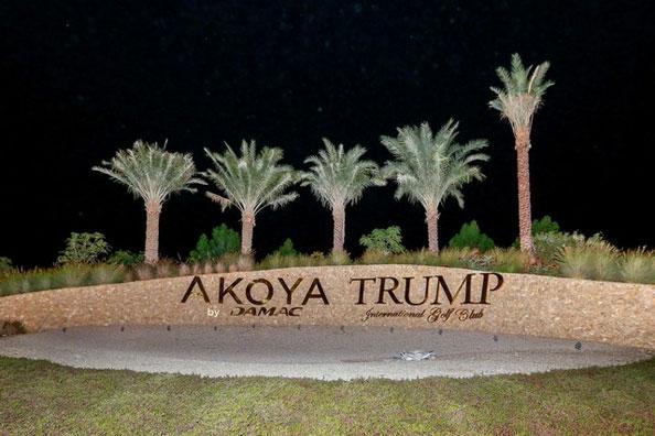 Donald Trump Damac Dubai