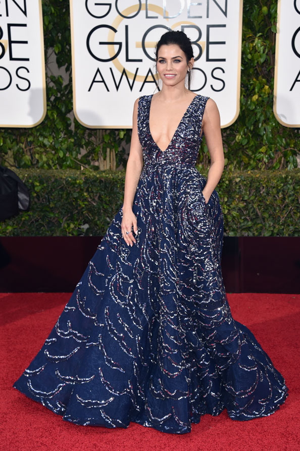 Zuhair Murad, Jenna Dewan Tatum golden globes 2016 best dressed