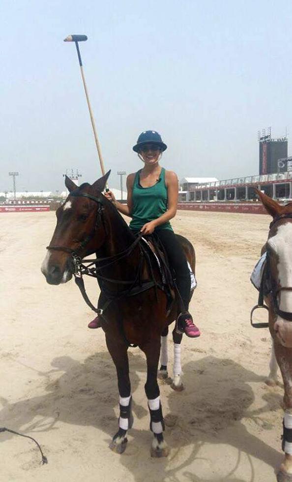 ALEXANDRIA GOUVEIA Beach Polo Cup Dubai