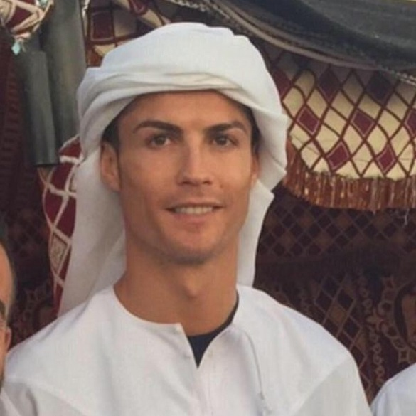Christiano Ronaldo Dubai