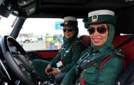 All-Women Police Squad In Dubai