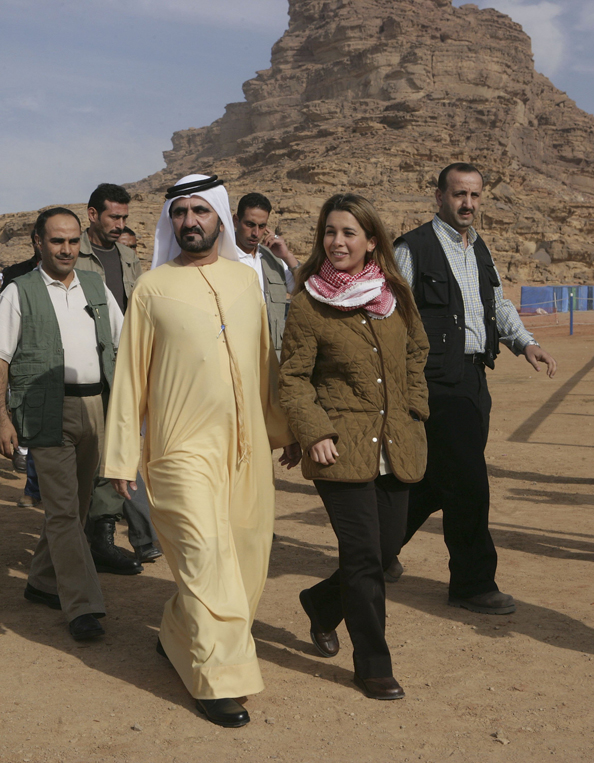 Princess Haya and Sheikh Mohammed