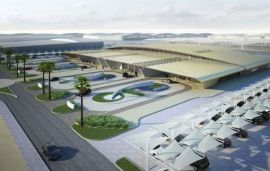 World's Only 7-Star Airport (In Dubai) Launches First Flight
