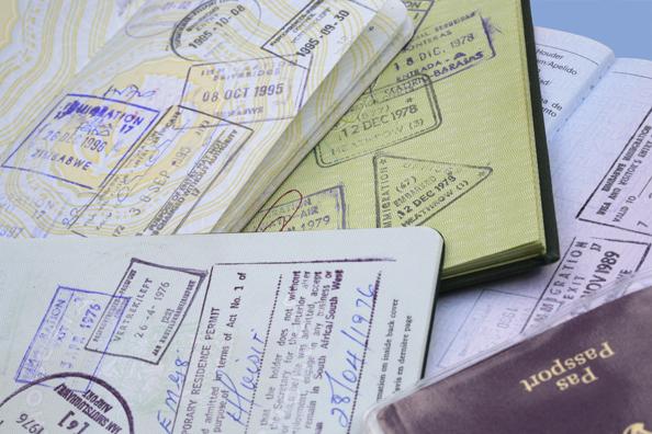 passport, visa
