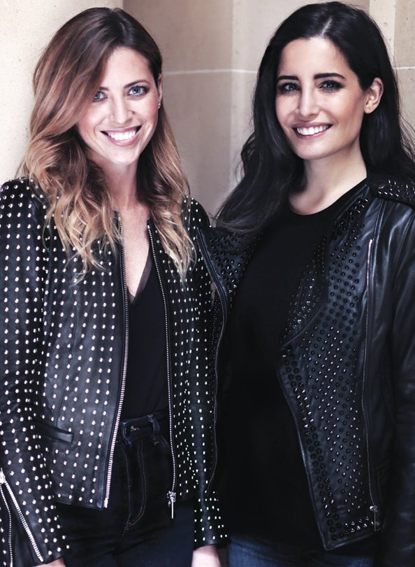 Nour Hammour designers Erin and Nour