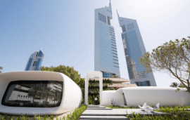 World's First 3D-Printed Office Building Opens In Dubai