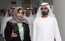 Sheikh Mohammed Praises Female Minister & New Mum For Work Ethic