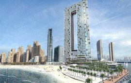 This Striking Hotel Will Be Springing Up Soon In JBR