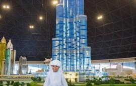 Sheikh Hamdan's Best Friend Unveils New Massive Lego Burj Khalifa