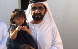 Sheikh Mohammed Delights His Mini Me With A Surprise Visit