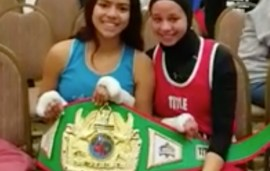 She Wasn't Allowed To Box In Her Hijab, But This Girl's Rival Had Her Back