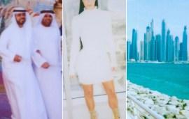 Kim Kardashian Finally Shares A Few Snaps From Her Dubai Travel Diary