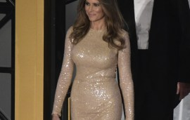 Lebanese Designer Dresses Melania Trump Over Inauguration