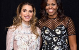 Queen Rania Posts Touching Tribute To Outgoing FLOTUS Michelle Obama
