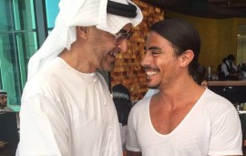 #SaltBae Cooks Up A Storm For Abu Dhabi's Crown Prince