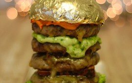 This Dhs230 Burger Gets The Midas Touch For A Dubai Festival