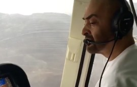 Avid Aviator HH Sheikh Mohammed Bin Zayed Takes To The Skies