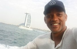 Will Smith Is Back In Dubai, One Of His Favourite Cities