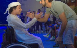 Sheikh Hamdan Shared A Special Moment With This Determined Young Athlete