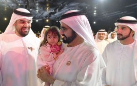 Sheikh Mohammed's Biggest Fan Just Stole The Show With This Poem