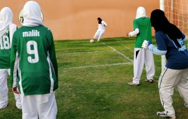 Saudi Girls Will Finally Be Allowed To Play Sports At School