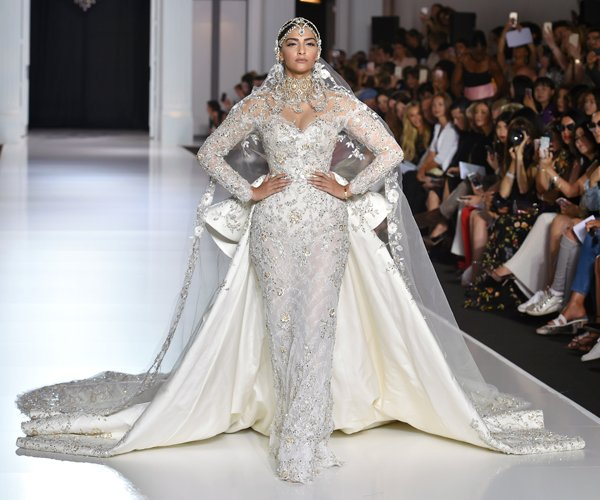 Sonam Kapoor makes her debut at Paris Couture Week 2017