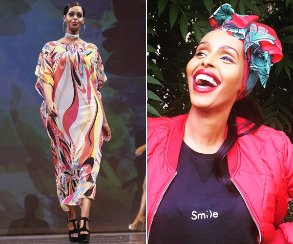 Miss Universe contestant wears kaftan instead of a bikini