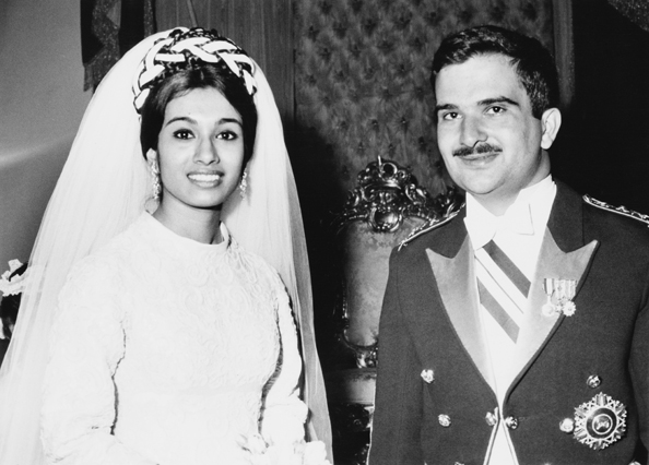 Prince Hassan bin Talal of Jordan and Princess Sarvath Ikramullah