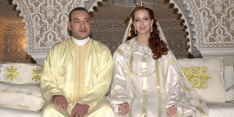 King Mohamed VI of Morocco and Princess Lalla Salma