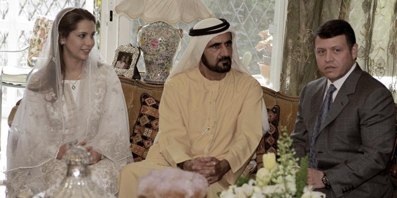 как познакомились принцесса иордании хайя и шейкх