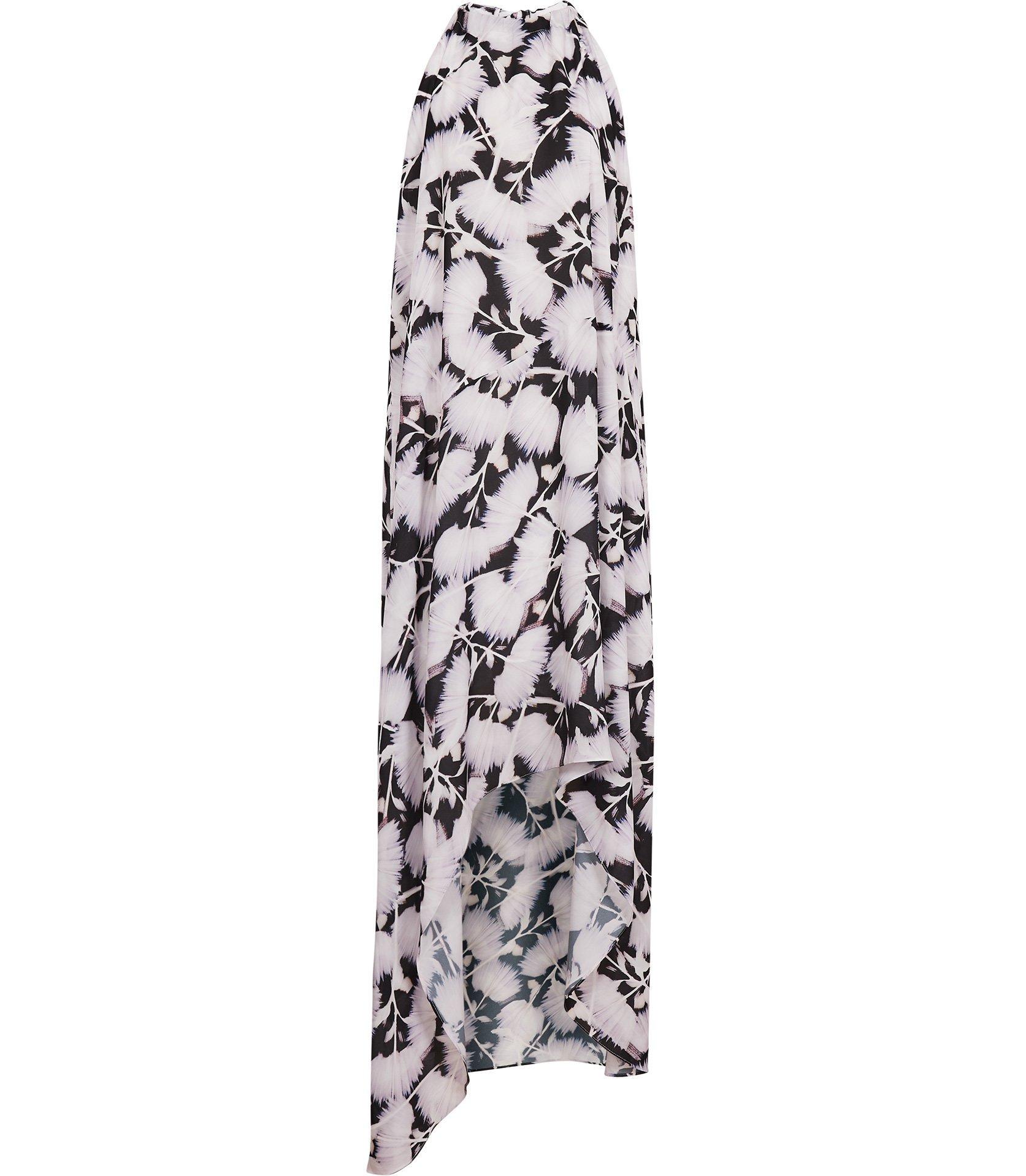 Megan Tie Neck Maxi Dress, Dhs1,150.