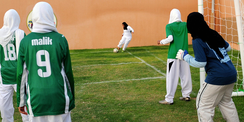 saudi girls football