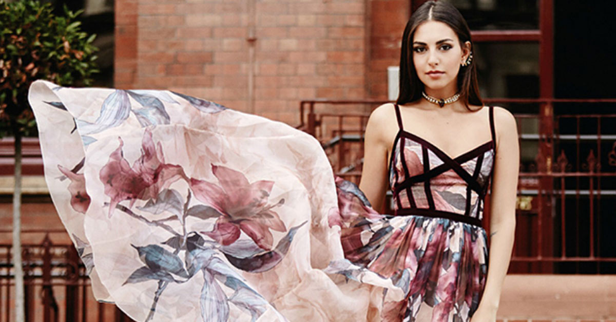 Valerie Abou Chacra has worn so much Elie Saab while hosting Project Runway Middle East