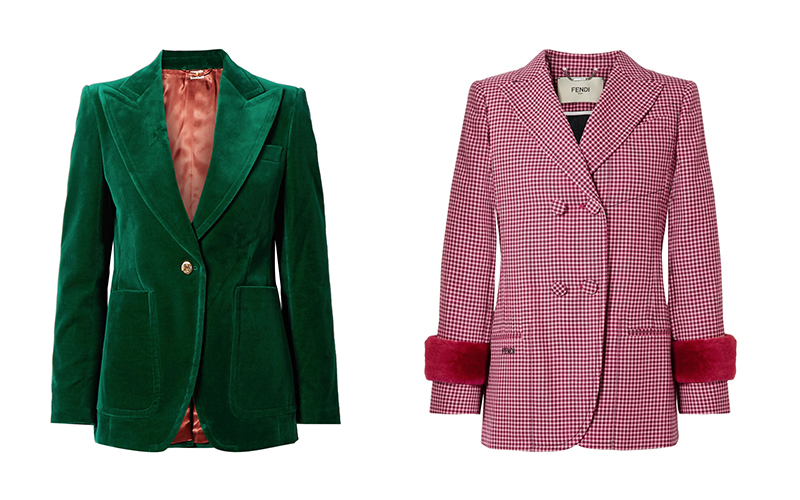 blazer trends for your next Dubai brunch