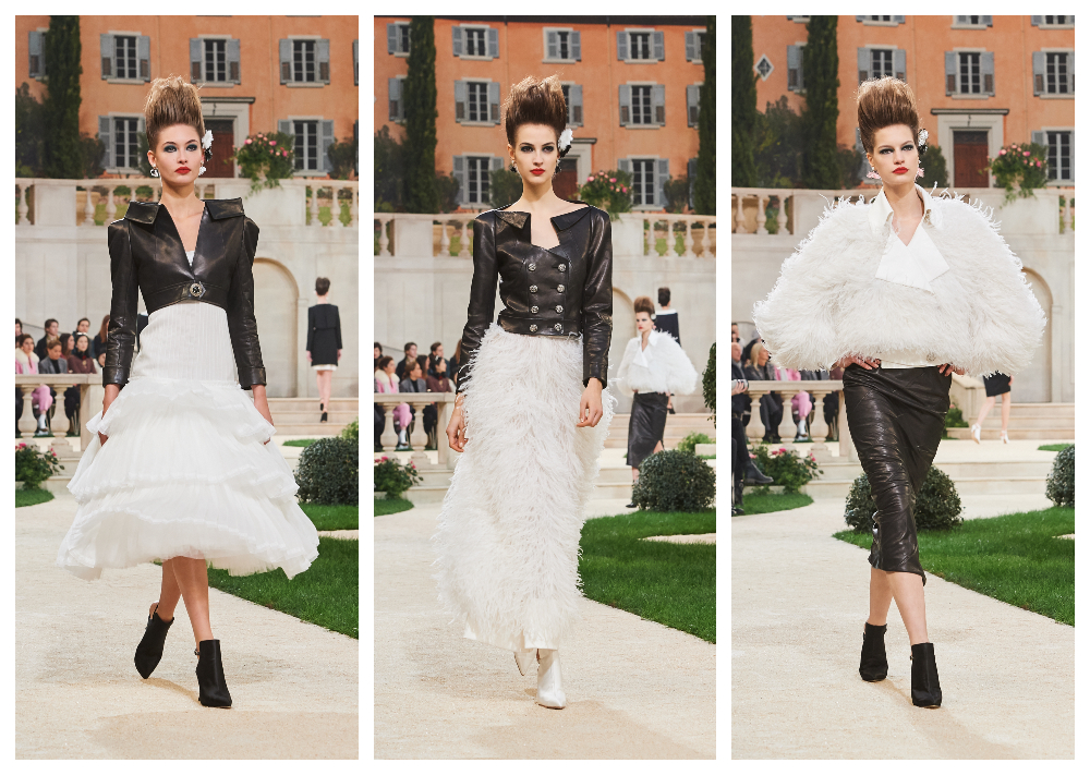 Chanel bridal swimsuit couture