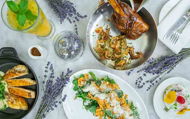 dubai weekend to do french restaurant